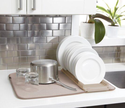 Kitchen Dish Drying Mat