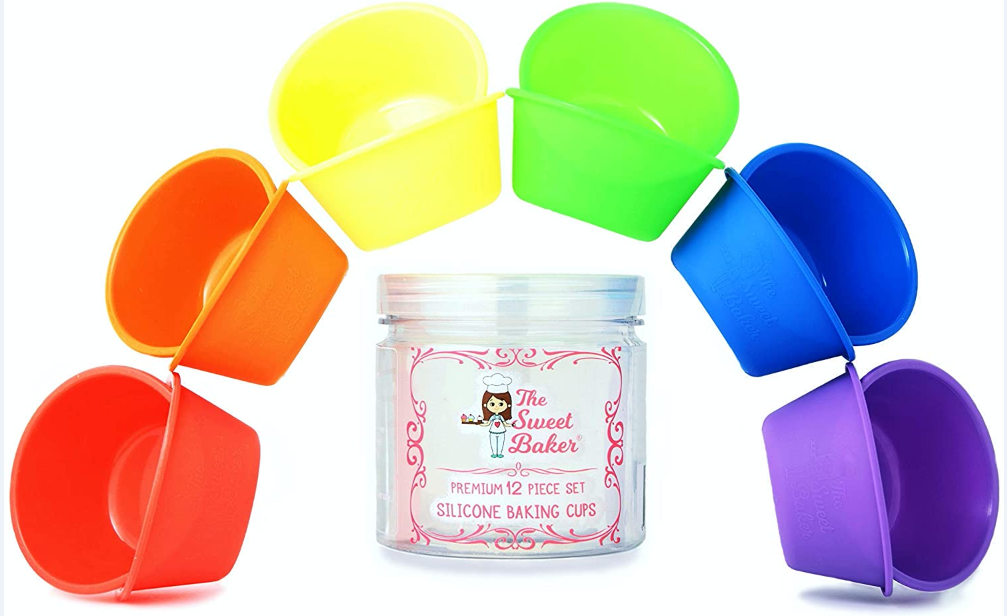 SILICONE BAKING CUPS 6