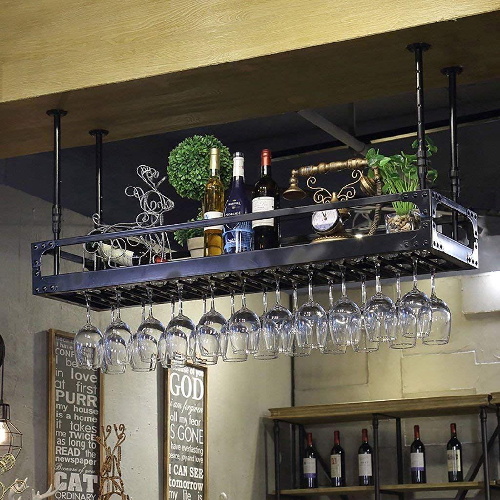 Bar Shelves For Wine Glasses